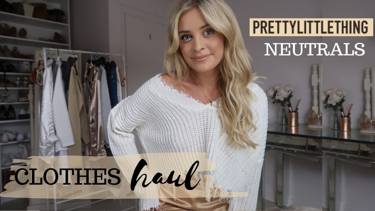 PRETTYLITTLETHING CLOTHES HAUL | Louise Cooney