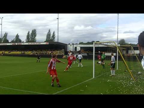 Altrincham goals vs. Harrogate Town (A)