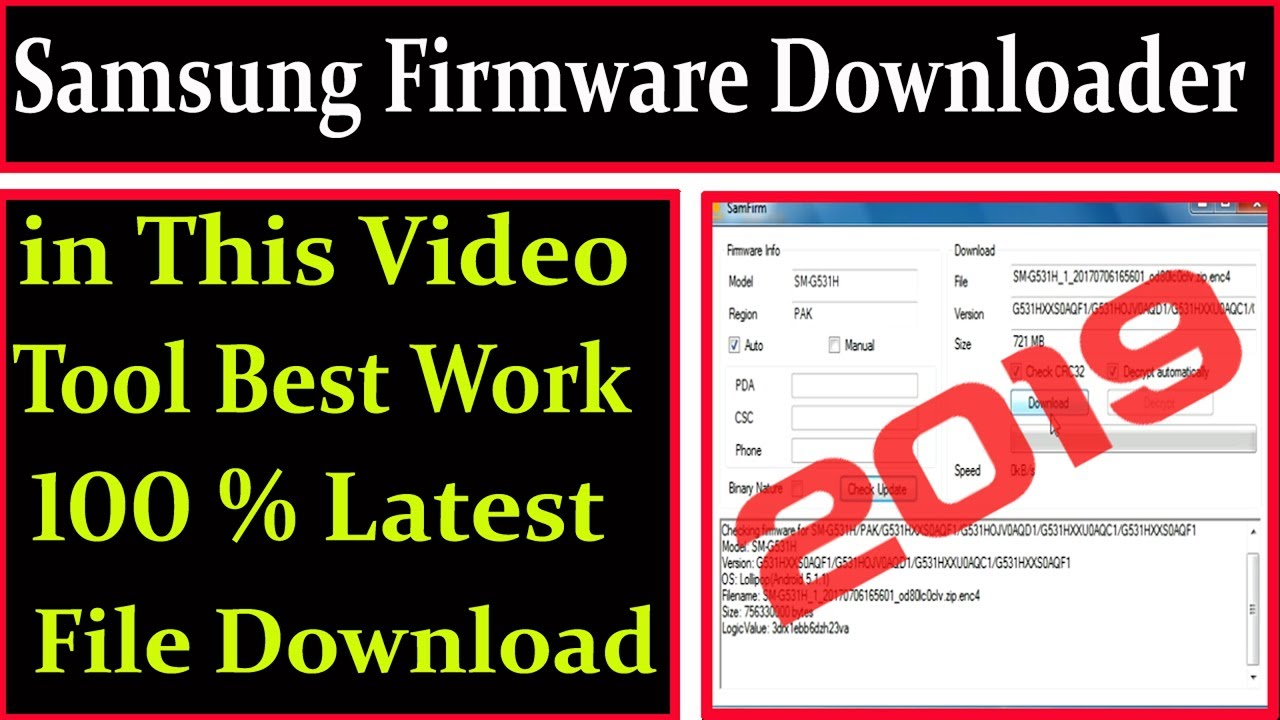 Samsung Firmware Downloader 2019 Easy Latest Frimware Download By AMS TECH