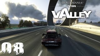 Trackmania - Lets Play Trackmania 2 Valley Deutsch Part 08 German Walkthrough Gameplay