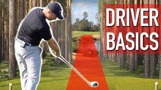 Driver Basics For Longer Straighter Golf Shots