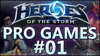 HotS Pro Games Ep 01 Well Met vs Kick Inc