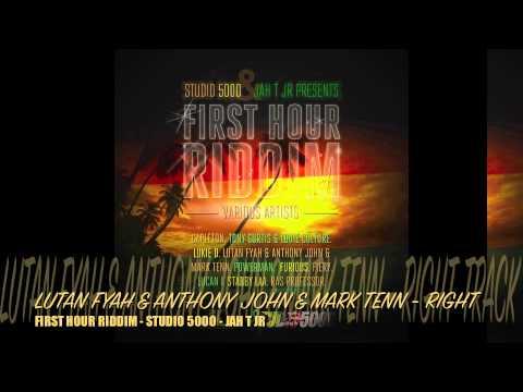 FIRST HOUR RIDDIM MIX BY FEDERATION SOUND - STUDIO 5000 - JAH T JR