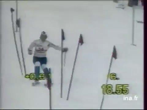 Camilla Nilsson wins slalom (Maribor 1987)