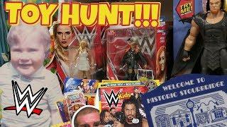 STOURBRIDGE TOY HUNT!!! Daze Goes Home | WWE Mattel Wrestling Figure Fun #96
