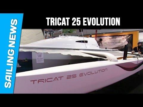 TRICAT 25 Evolution: le bateau performant et transportable
