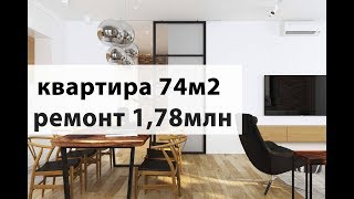 Обзор Дизайн интерьера в современном стиле и ремонт квартиры Geometrium