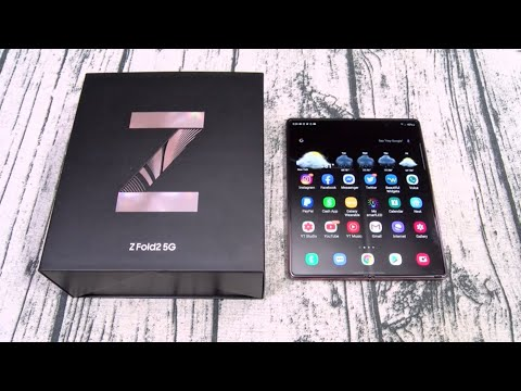 Samsung Galaxy Z Fold 2 5G - Unboxing and First Impressions