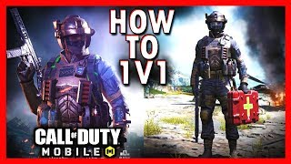 HOW TO 1v1 COD MOBILE? | PLAY AGAINST FRIENDS ON CALL OF DUTY MOBILE