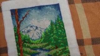 Вышивка крестиком:  Природа