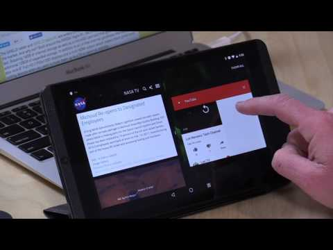 Nvidia Shield K1 Tablet (New And Old) Gets Android 7 Nougat! Split Screen Multitasking