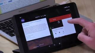 nvidia shield k1 tablet new and old gets android 7 nougat split screen multitasking