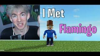 Conocí a Flamingo en Roblox Minecraft