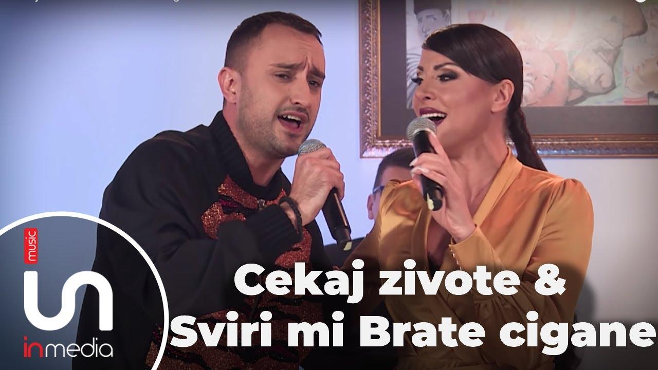Cekaj zivote & Sviri mi Brate cigane - Suzana Gavazova & Balkan Bend
