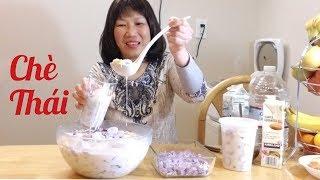 Cách làm chè thái thanh mát ngọt ngào (Người Việt ở Mỹ)