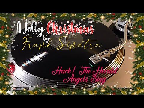 A Jolly Christmas From Frank Sinatra - Hark! The Herald Angels Sing - (1957) Black Vinyl LP