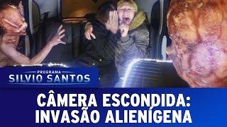 Câmera Escondida (04/09/16) - Invasão Alienígena (Extraterrestrial Prank)