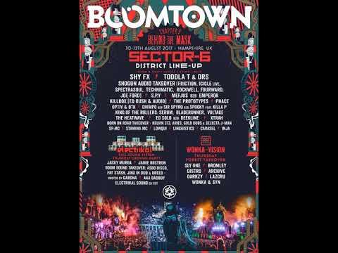 Ed Solo B2B Deekline feat. MC Ivory - Boomtown 2017
