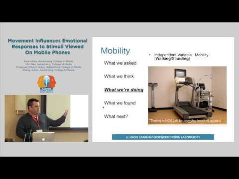 Movement Influences Emotional Responses to Stimuli Viewed On Mobile Phones