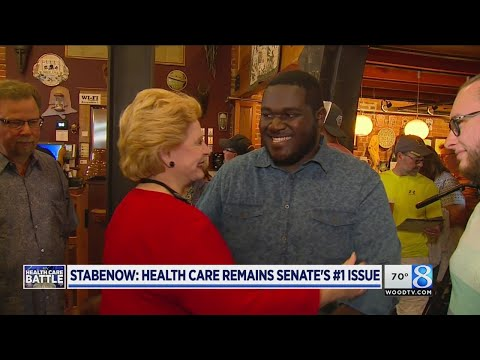 Stabenow talks Obamacare, Asian Carp and Kid Rock