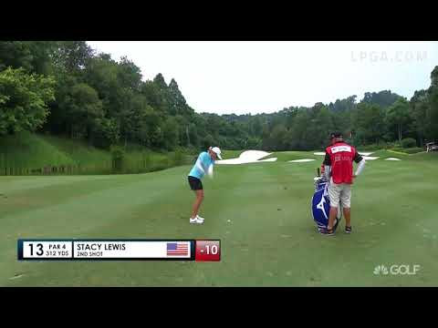 Stacy Lewis Slam Dunk on 13 - Final Round 2017 Sime Darby LPGA Malaysia