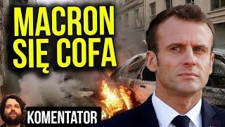 Macron Się Cofa - Francuzi Nasilają Protesty w Weekend Paryż Będą MEGA Zamieszki Analiza Komentator