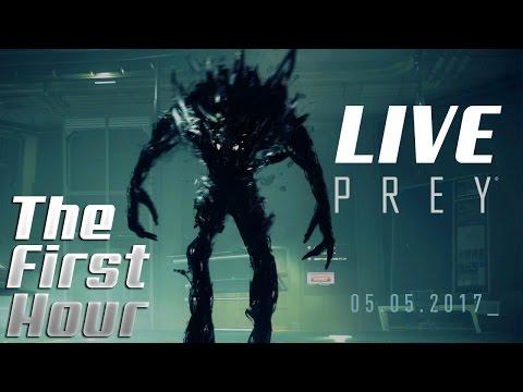 Bethesda's PREY - The FIRST HOUR of Prey! (Prey Demo Gameplay) - LIVESTREAM VoD #26