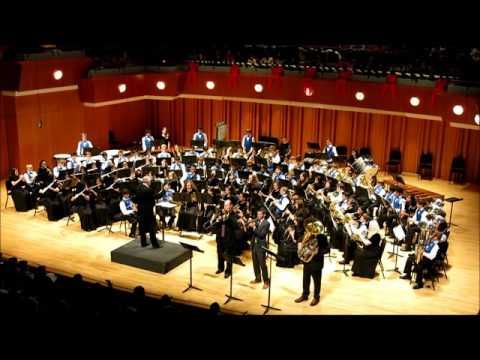 South Forsyth Middle School Band, St  Louis Blues, December 11, 2015