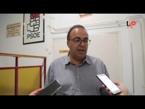 LEGANES   Primeras declaraciones de Santiago Llorente tras su reelección