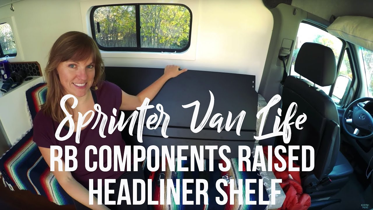 Installing rb components raised headliner shelf in a for Space headliner