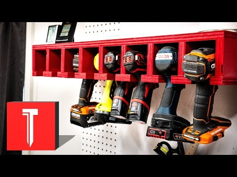 DIY Charging Station for Power Tools!