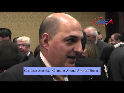 Chaldean American Chamber Annual Awards Dinner April 29 2016