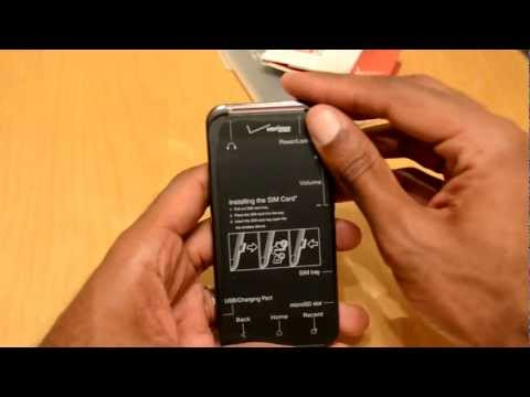 HTC Droid Incredible 4G LTE (Verizon) Unboxing