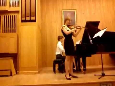 Marta Zalewska, Piotr Fidelus - O.Messiaen - Theme et Variations