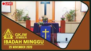 - Ibadah Minggu, 29 November 2020