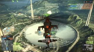 【BF4】バトルフィールド4 攻撃ヘリ 日本1位とES-REV国際大会決勝戦 2/2 (パイロット視点)