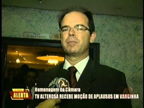 TV Alterosa recebe moção de aplausos em Varginha