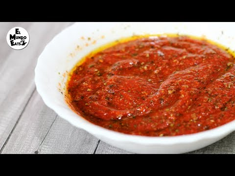 Quick And Easy No-Cook Pizza Sauce
