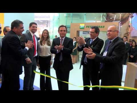 Official opening of Brasil Offshore 2013