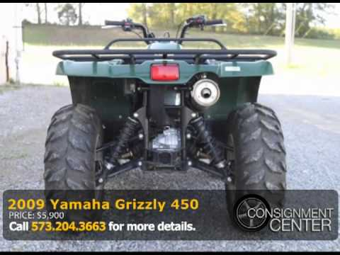 2009 yamaha grizzly 450 youtube for 2009 yamaha grizzly 450 value