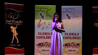 Анастасия Барбэ - конкурс в Румынии