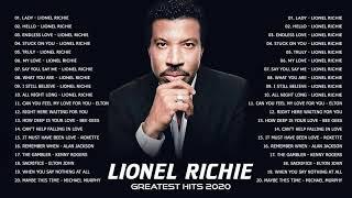 Top 30 Songs of Lionel Richie | Lionel Richie Greatest Hits Full Album 2020