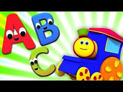 Bob , El Tren | Alfabeto Aventura | canción del alfabeto | Alphabets Adventure
