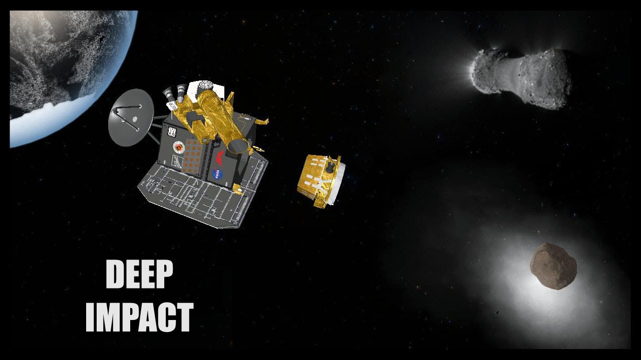 Deep Impact - Orbiter Space Flight Simulator 2010 - YouTube