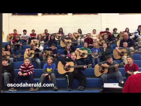 Mio AuSable Elementary School's Christmas Show