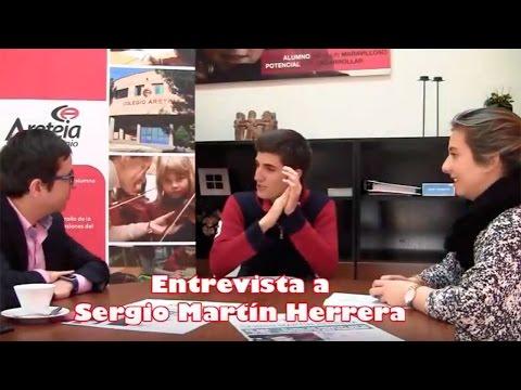 Entrevista a Sergio Martín Herrera