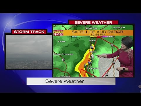 Severe Weather Coverage June 22, 2017