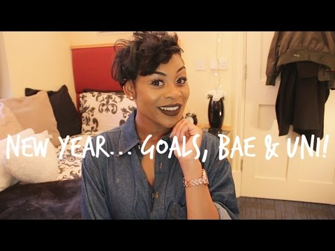 NEW YEAR: Goals, Finding Bae & Wanting to Drop Out of Uni!   NISSYTEE