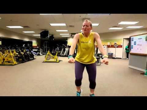 """Dance Fitness """"Overcomer"""" by Mandisa"""