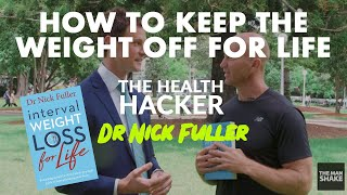 """I had a great chat with dr nick fuller about his new book """"interval weight loss for life: the practical guide to reprogramming your body one month at time""""..."""